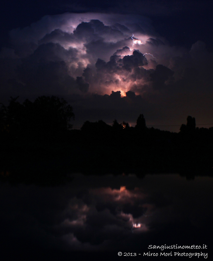 """Fulmine lampo notturno """"San Giustino"""""""