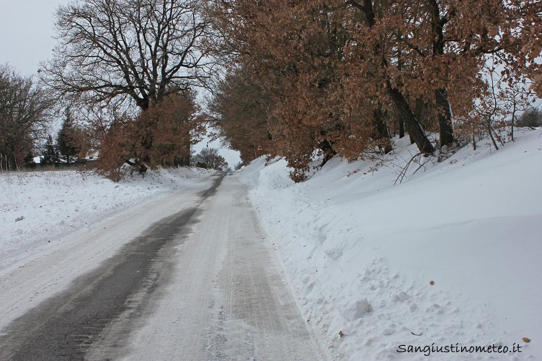 """San Giustino"" Buran Febbraio 2012 Neve"
