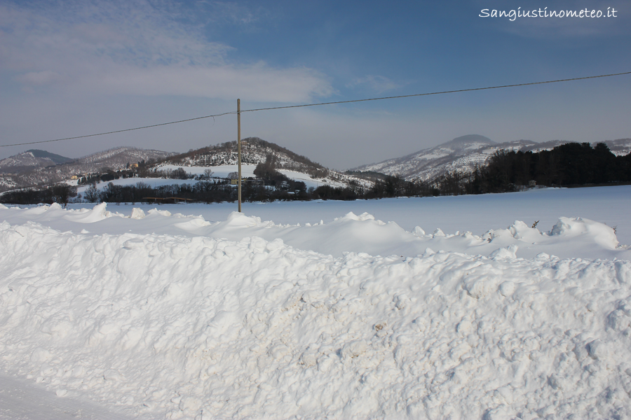 "Neve ""San Giustino"" ""Febbraio 2012"" buran"