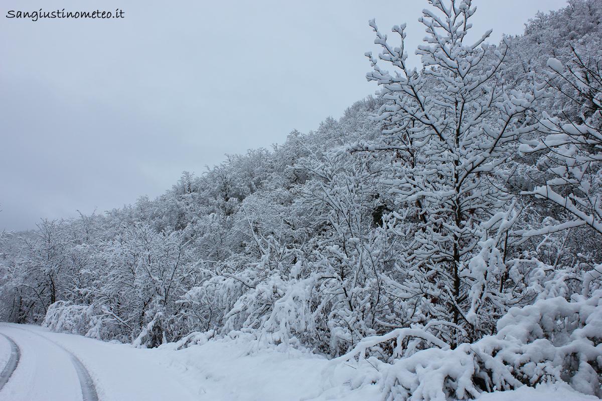 San Giustino meteo neve