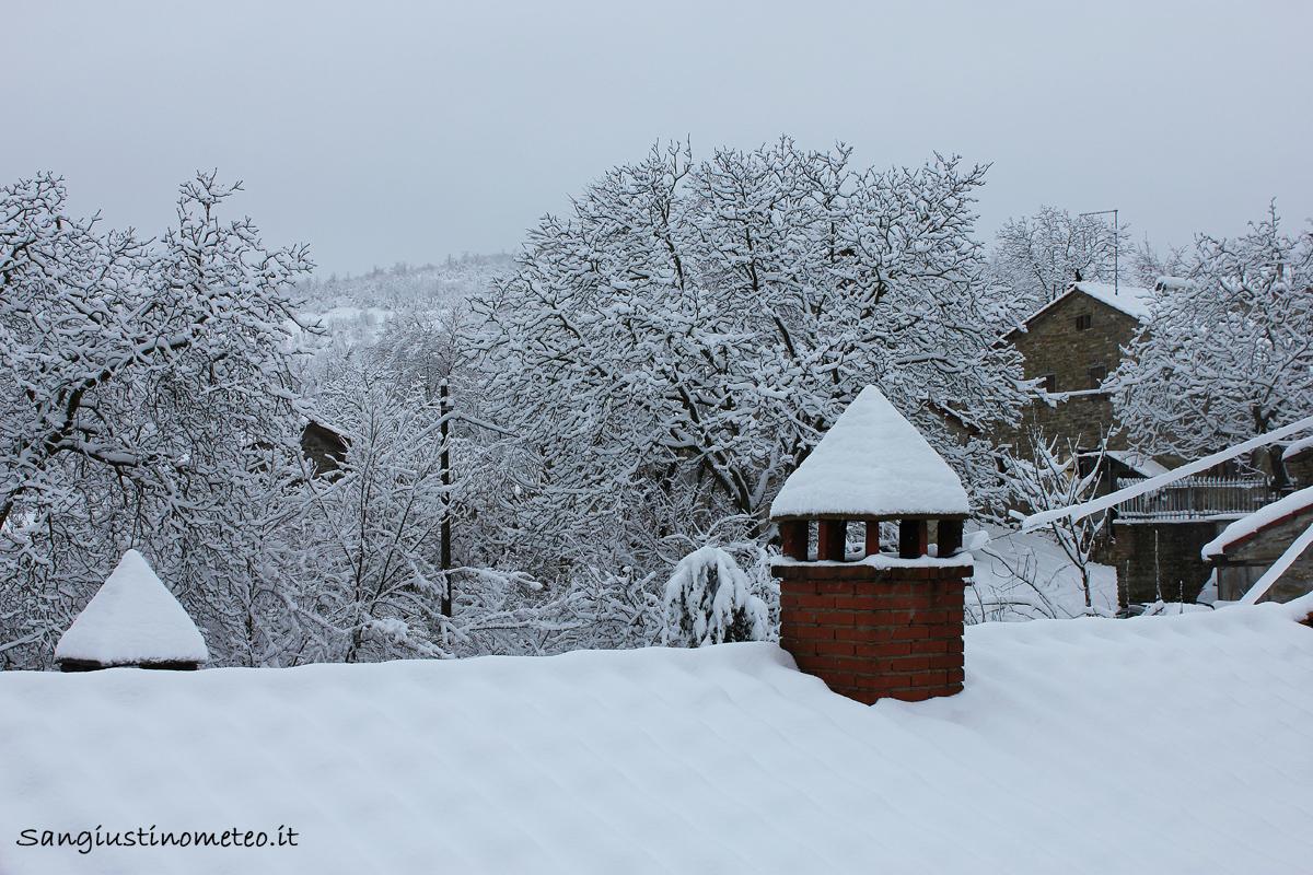 San Giustino meteo neve 6 febbraio 2015
