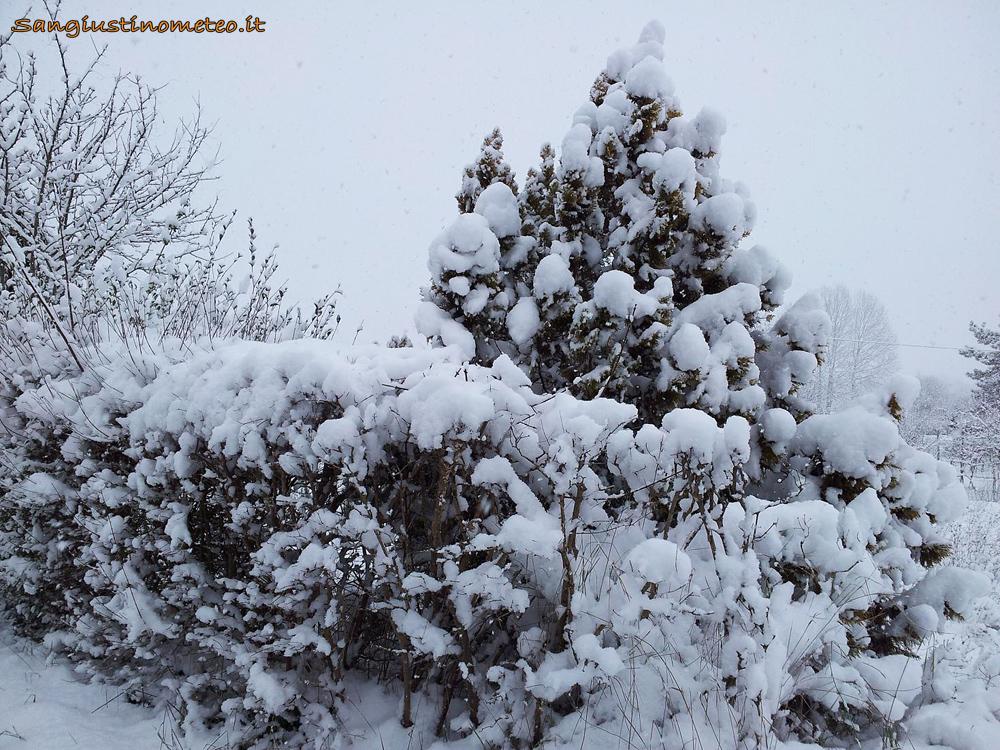 San Giustino neve