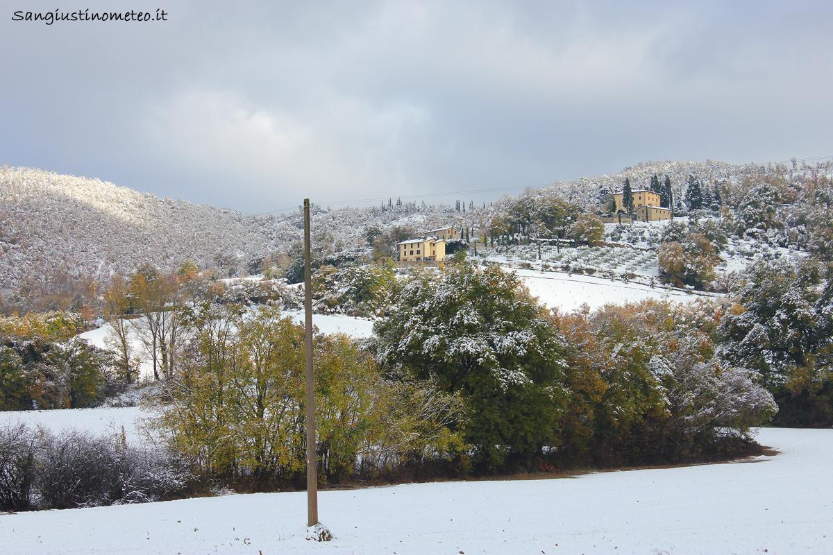 San Giustino meteo neve 22 Novembre 2015