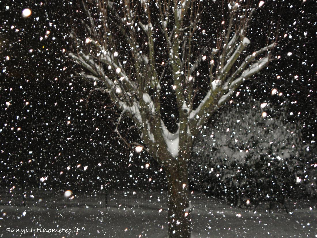 Neve dicembre 2010 san giustino meteo