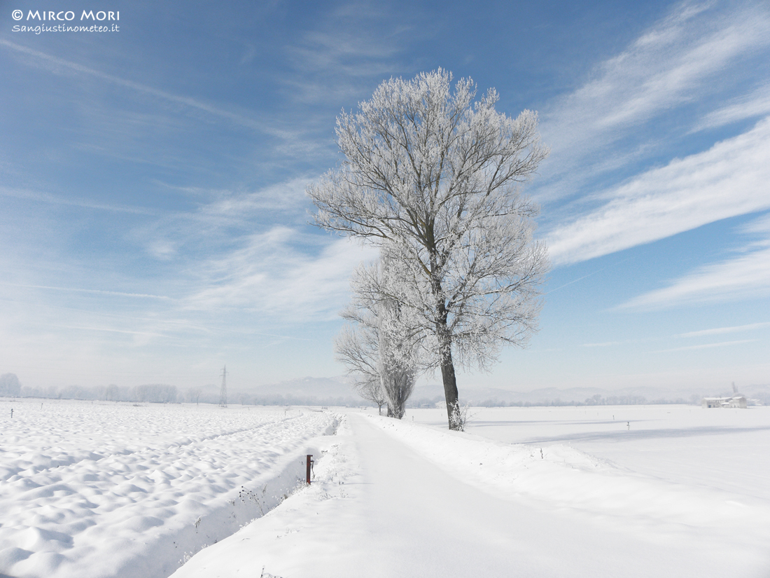 Neve dicembre 2010 san giustino meteo galaverna