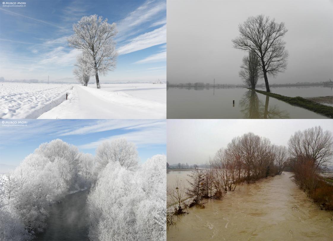 Neve dicembre 2010 san giustino meteo galaverna alluvione