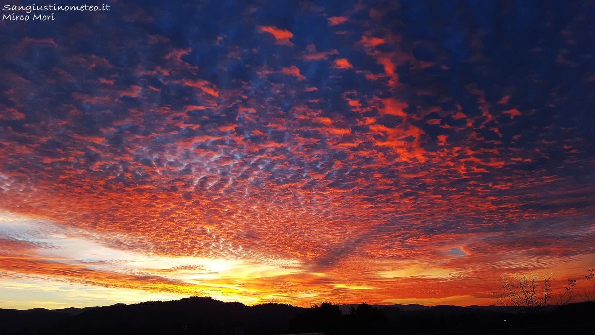 san giustino meteo tramonto