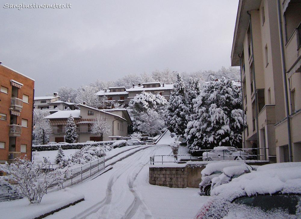 San Giustino Meteo Neve Freddo Dicembre 2009
