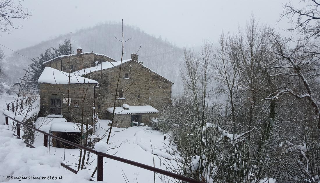 Gennaio 2017 neve Renzetti San Giustino Meteo