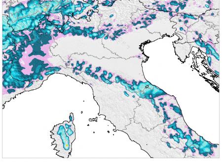 Notizie flash: qualche nevicata tra martedì e mercoledì?