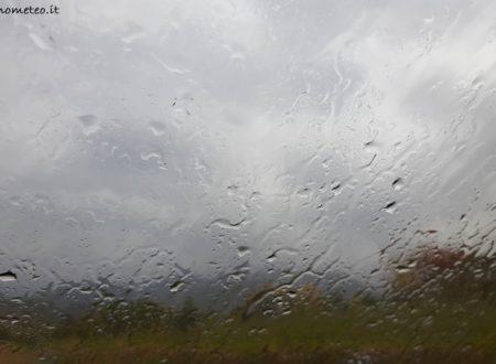 Pioggia e vento tra stasera e domani