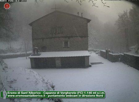 Neve segnalata su tutto l'Appennino!