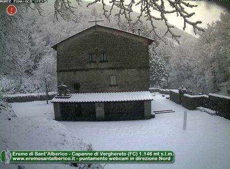 Nevica in Appennino, questa sera/notte il clou del peggioramento
