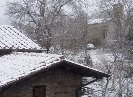 E' arrivata la prima neve
